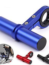 cheap -Bike Handlebar Extender Flashlight Mount Holder Adjustable Lightweight Stretch for Road Bike Mountain Bike MTB Recreational Cycling Aluminum Alloy Black Blue Red