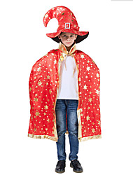 cheap -Inspired by Cosplay Hogwarts School of Witchcraft and Wizardry Anime Cosplay Costumes Japanese Cosplay Suits Cloak / Hat / Wand For Boys' / Girls'