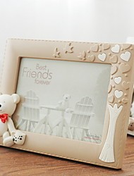 cheap -Modern Contemporary Resin Painted Finishes Picture Frames Wall Decorations, 1pc Picture Frames