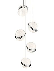 Недорогие -UMEI™ 5-Light 11 cm Творчество / Регулируется / Новый дизайн Люстры и лампы Металл Акрил Мини / Оригинальные Электропокрытие LED / Modern 110-120Вольт / 220-240Вольт
