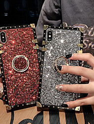 cheap -Phone Case For Apple Back Cover iPhone 12 Pro Max 11 SE 2020 X XR XS Max 8 7 6 Shockproof Ring Holder Armor Armor Glitter Shine Metal