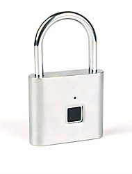 cheap -New Bluetooth Fingerprint Padlock Smart Outdoor Door Padlock Luggage Lock Warehouse Dormitory