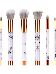 cheap -Professional Makeup Brushes 6pcs Soft New Design Full Coverage Lovely Comfy Plastic for Makeup Set Makeup Tools Makeup Brushes Foundation Brush Makeup Brush Lip Brush Eyeshadow Brush