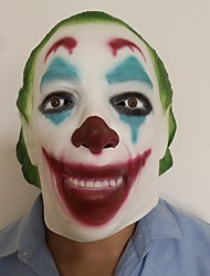cheap -Mask Halloween Mask Inspired by Joker Clown Scary Movie White Halloween Carnival Adults' Men's Women's