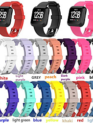 cheap -1 PCS Watch Band for Fitbit Classic Buckle Silicone Wrist Strap for Fitbit Versa