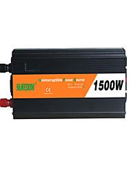 Недорогие -suredom автомобильный инвертор постоянного тока 12 В переменного тока 220 В / постоянного тока 24 В переменного тока 220 В / постоянного тока 12 В переменного тока 110 В 12/24 В 1500 Вт для
