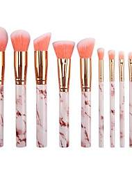 cheap -Professional Makeup Brushes 10pcs Soft New Design Full Coverage Comfy Plastic for Makeup Brush
