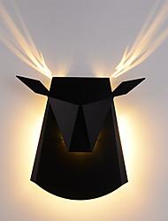 cheap -Mini Style / Creative LED Wall Lamps & Sconces Living Room / Bedroom Metal Wall Light 110-120V / 220-240V