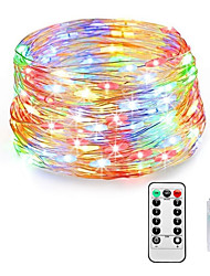 cheap -Fairy Lights Plug in 8 Modes 20M 200 LED USB String Lights with Adapter Remote Timer Waterproof Decorative Lights for Bedroom Patio Christmas Wedding Party Dorm Indoor Outdoor