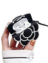 Недорогие -Кристаллический защитный чехол простой стиль Apple Airpods царапинам пластиковый корпус