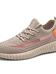Недорогие -Муж. Комфортная обувь Tissage Volant Весна / Лето Спортивная обувь Дышащий Черный / Темно-серый / Белый / Нескользкий / Доказательство износа