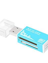 Недорогие -maikou usb 2.0 многофункциональное устройство для чтения карт памяти все в 1 для micro sd sdhc tf m2 mmc