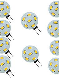 cheap -10pcs 1.5 W LED Bi-pin Lights 200 lm G4 6 LED Beads SMD 5730 9-30 V