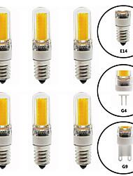 cheap -6pcs 6 W LED Bi-pin Lights 600 lm E14 G9 G4 T 1 LED Beads COB Dimmable New Design Warm White White 220-240 V 110-120 V
