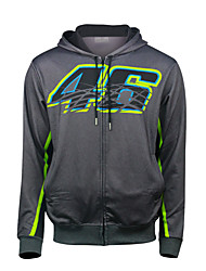 cheap -MotoGP VR46 Rosie Motorcycle Cycling Racing Suit Fleece Warm Casual Jacket for Motorbike Biker Riding Armored All-Weather Windproof Material Textile(XXL XL L M S)