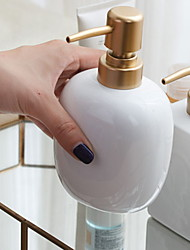 cheap -Soap Dispenser New Design Ceramic Material for Bathroom and Kitchen White 1pc 15*8.5cm