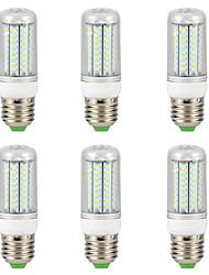 cheap -6pcs 9 W LED Corn Lights 300 lm E14 G9 GU10 T 72 LED Beads SMD 4014 Warm White White 220-240 V 110-130 V