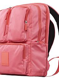 """Недорогие -CONWOOD BK602 15 """"Ноутбук Рюкзаки Нейлоновое волокно Однотонный / Простой Для мужчин Для женщин для делового офиса"""