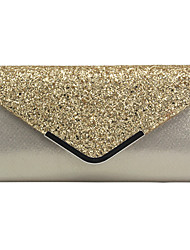 cheap -Women's Bags PU Leather Evening Bag Sequin / Chain for Wedding / Event / Party Black / Blushing Pink / Gold / Wedding Bags