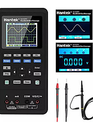 cheap -Hantek 3in1 Digital OscilloscopeWaveform GeneratorMultimeter Portable USB 2 Channels 40mhz 70mhz LCD Display Test Meter Tools Ultra-low Power Design With Large-capacity lithium Battery One-key AUTO
