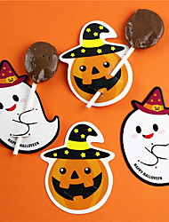 cheap -50pcs Halloween Paper Sugar Card Festive Party Decorations Package Halloween Supplies