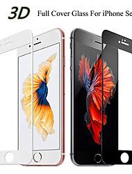 Недорогие -3d изогнутый край полный экран протектор экрана для iphone 7 закаленное стекло на iphone 6 7 8 плюс xs защитное стекло экрана
