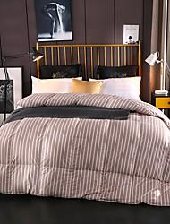 abordables -Confortable - 1pc Confort Toutes les Saisons Duvet de Canard Blanc Couleur Pleine