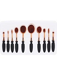cheap -Professional Makeup Brushes 10pcs Soft New Design Full Coverage Lovely Comfy Plastic for Makeup Set Makeup Tools Makeup Brushes Eyeliner Brush Blush Brush Foundation Brush Makeup Brush Lip Brush