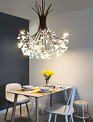 cheap -13 Bulbs 45 cm Chandelier Metal Sputnik Novelty Painted Finishes Modern Nordic Style Generic