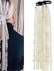 cheap -Women's Dainty Trendy Fashion Imitation Pearl Hair Clip Party School
