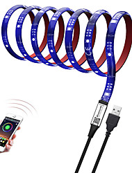 cheap -BRELONG 1M LED Light Strips 10mm RGB Tiktok Lights 5050SMD 30LED TV Background Light Bluetooth APP Control Dimmable Bare Board Is Not Waterproof