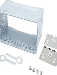 Недорогие -автомобильный радиоприемник 2din установка металлическая клетка комплекты кронштейны / винты / ключи для серии Volkswagen Jetta Chico Golf