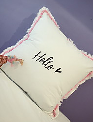cheap -2 pcs Polyester Pillow Cover, Geometric Casual Throw Pillow