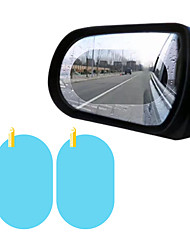 cheap -2Pcs Car Rear Mirror Protective Film Anti Fog Window Clear Rainproof Rear View Mirror Protective Soft Film Auto Accessories
