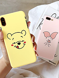 cheap -Case For Apple iPhone XS / iPhone XR / iPhone XS Max Pattern Back Cover Cartoon PC for  iPhone 6  6 Plus  6s 6s plus 7 8 7 plus 8 plus X XS