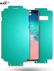 Недорогие -Оригинальная 10d передняя + задняя гидрогелевая пленка для Samsung Galaxy S10 Plus S10 5G S9 S8 Plus Note 10 9 8 Нано-форма памяти с полной пленкой ТПУ
