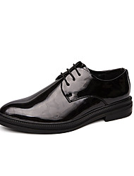 cheap -Men's Leather Shoes Patent Leather Summer Oxfords Red / Gold / Black / Party & Evening / Party & Evening