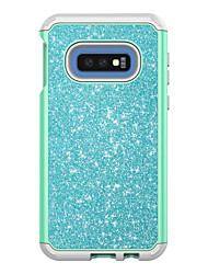 cheap -Phone Case For Samsung Galaxy Back Cover S10 S10 + Shockproof Glitter Shine PC