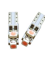 cheap -10pcs/set 5mm LED Light Bulbs for Vanity Mirror Sun Visors T5 1210-3LED Basic Miniature Bulb