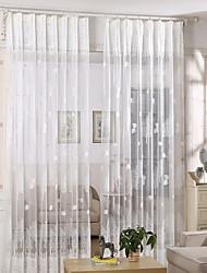 abordables -Moderne Pur Un Panneau Pur Chambre de fille   Curtains
