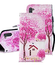 cheap -Case For Samsung Galaxy Note 9 / Note 8 / Galaxy Note 10 Wallet / Card Holder / Shockproof Full Body Cases Tree PU Leather
