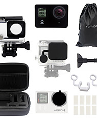 cheap -Waterproof Housing Case Water Resistant Waterproof Case For Action Camera Gopro 4 Gopro 3+ Multisport Diving / Boating Windsurfing ABS+PC