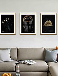 cheap -Framed Art Print Framed Set - Abstract People PS Illustration Wall Art