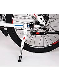 cheap -Bike Kickstand Portable Repair Kit Adjustable / Retractable Anti-Slip Durable For Road Bike Cycling Bicycle Metal Black White 1 pcs
