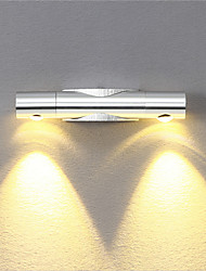 abordables -moderne 6w led applique murale lumière angle-réglable décorative spots pour la lumière de chambre de chevet studio à la maison