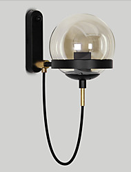 cheap -Wall Lamp Nordic Simpel Wall Sconces Globe Shade Oil Rubbed Bronze American Industrial Home Deco Light Wall Mount for Corridor Living Room