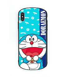 cheap -Case For Apple iPhone XS / iPhone XR / iPhone XS Max Pattern / Game case Back Cover Cartoon TPU / Tempered Glass