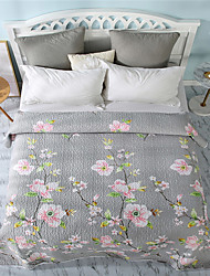 cheap -Bedspread - Polyester Quilted Cartoon / Classic / Fashion 1pc Flat Sheet