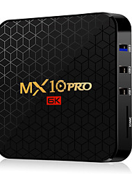 cheap -MX10 PRO Smart TV Box Android 9.0 4GB RAM 64GB ROM 2.4G 5G Wifi Set Top Box Allwinner H6 Quad Core H.265 6K HDR Media Player