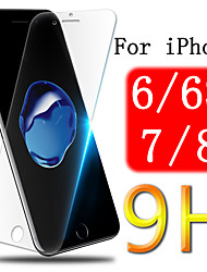 cheap -Screen protector on for iPhone 6 6S 7 8 S tempered glass aphone protective iphome armor sheet tremp film iphones protection glass